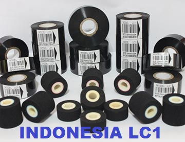 Distributor Ribbon Tape Hot Ink Roll LC1 Murah Bagus Berkualitas